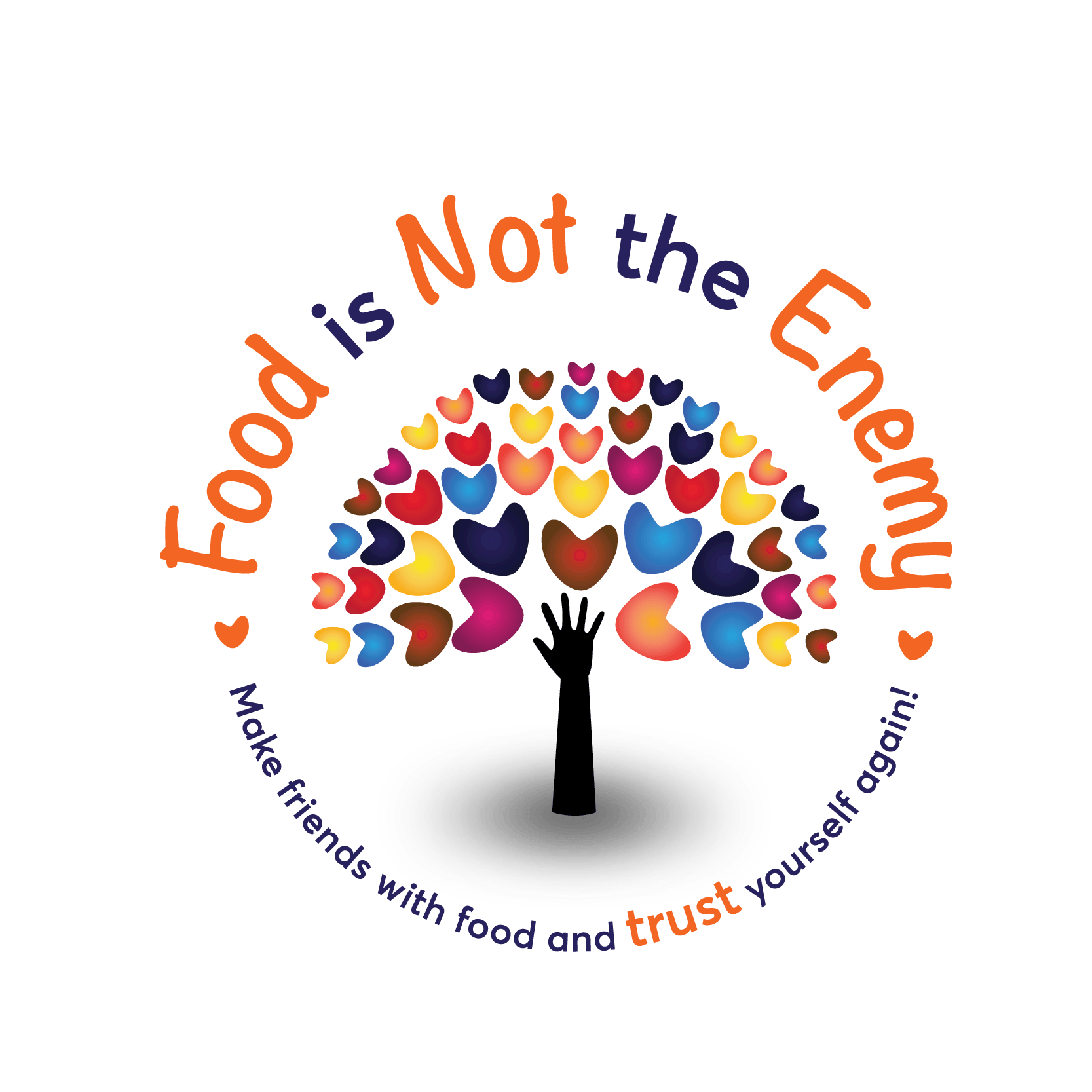 Food Is Not The Enemy Logo